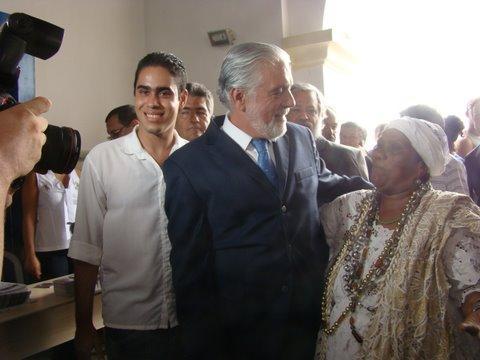 ADRIANO E O GOVERNADOR WAGNER