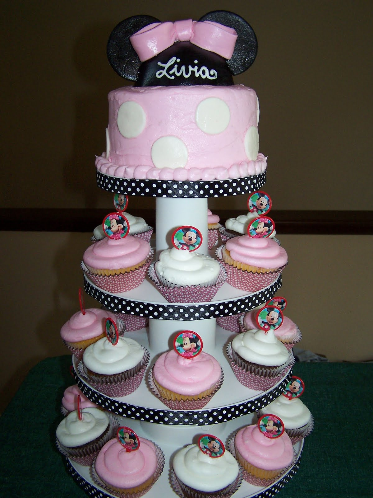 Julie Daly Cakes Minnie Mouse Birthday