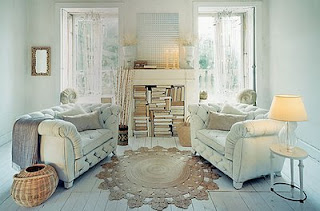 Meg Hill Florals: Or Do You Prefer The Softness of Shabby Chic?