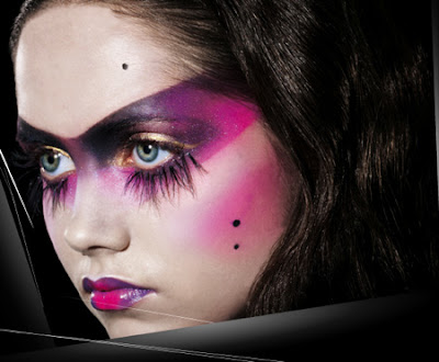 fantasy stage makeup. ILLAMASQUA MAKE UP BRAND