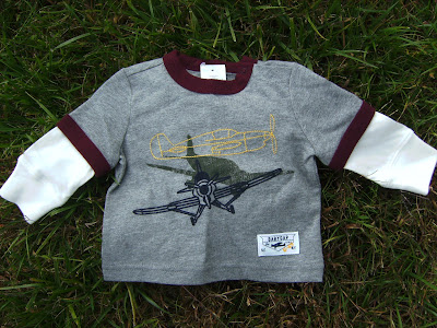 NWT Grey Long Sleeve Baby Gap T Shirt for 3 6 Months Boy