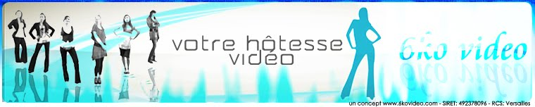 hotesse video entreprise - video entreprise paris, video web, video internet