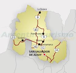Mapa de Jujuy