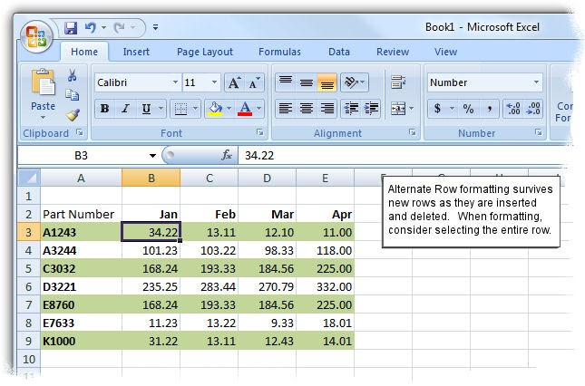 how to make invoice number change automatically in excel 2007