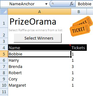 raffle ticket tracking spreadsheet