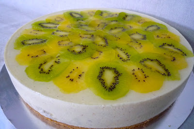 The Good Cheese Cake: Kiwi Cheesecake (Seasonal)