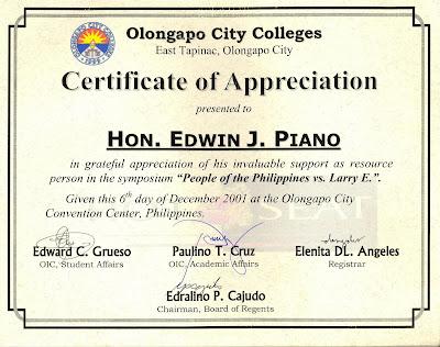 EDPIANO TOCP PCL JCI Philippines: GORDON COLLEGE - CERTIFICATE OF ...