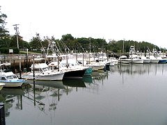 Rock Harbor Fishing Boats