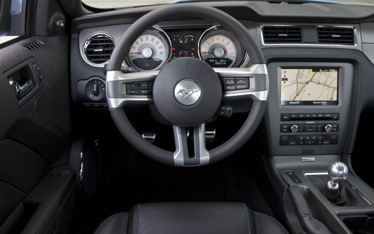 Good Mustang GT Drivers View