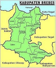 Peta Wilayah Brebes
