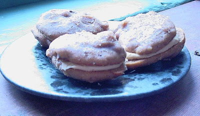 THE CRISPY COOK: Mocha Pepper Sandwich Cookies, Gluten-Free and Spicy!