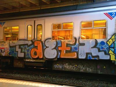 Tazer graffiti
