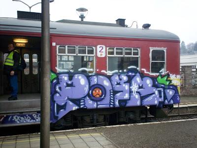 poes graffiti PONé