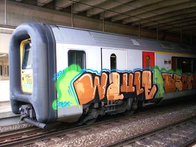Elauw graffiti