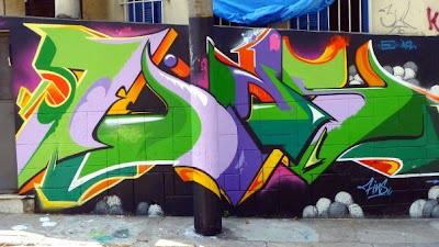 graffiti Santa Teresa