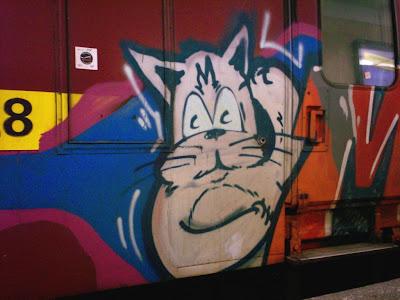 Mad Catz graffiti