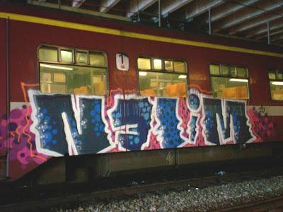 Nelim graffiti art