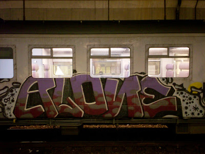 Alone graffiti