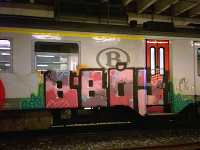 Bboy graffiti