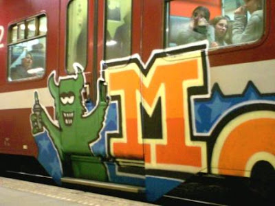 Moas graffiti