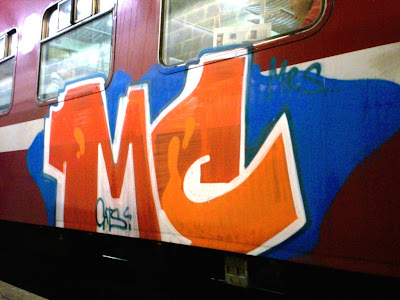 mc train graffiti