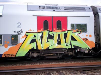 Alok graffiti