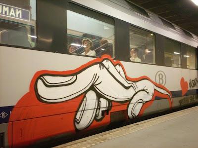 Hand graffiti art Calbar