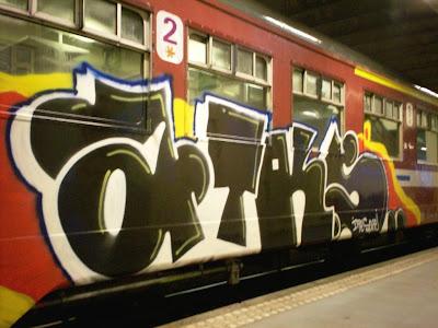 ATK(s) by Ites ATK (crew) graffiti artist
