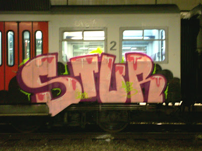 STUR graffiti
