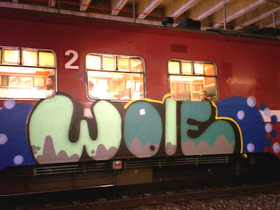 Wole train graff writer