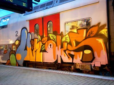 Unoks graffiti