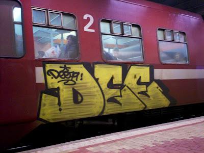 Dee graffiti