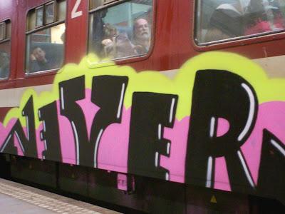 Nerver graffiti