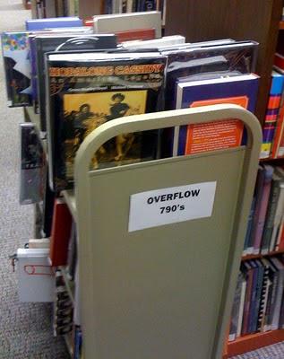 Overflow Carts, 4th Floor