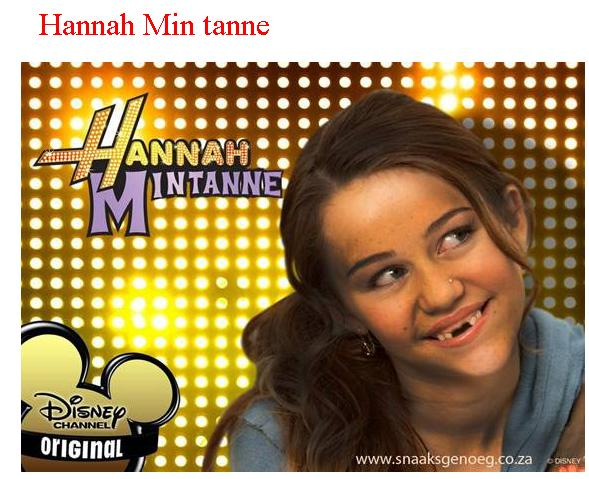 If Hannah lived in Cape Town