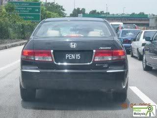 PEN+15+ +PENIS Koleksi Nombor Plat Kereta Tercantik Dan Termahal Di Malaysia