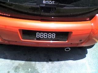 BBB+88 Koleksi Nombor Plat Kereta Tercantik Dan Termahal Di Malaysia
