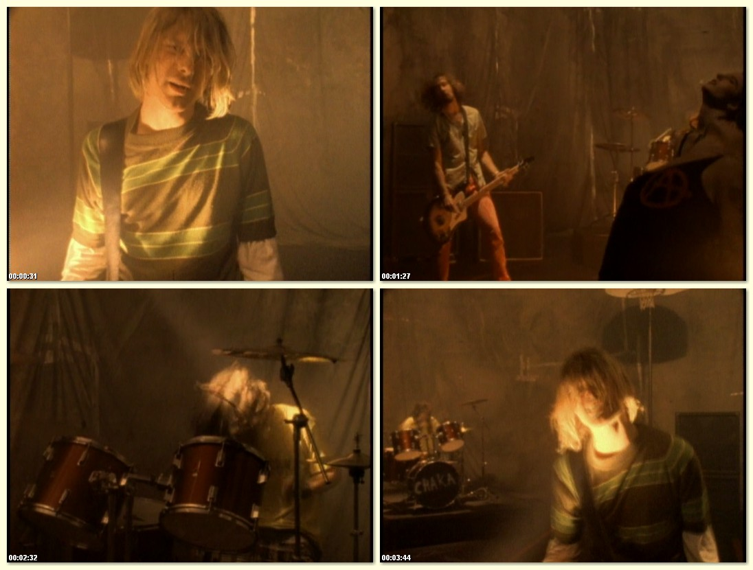 "MTV premieres the video for Nirvana's ""Smells Like Teen Spirit."