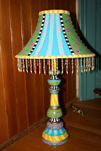 Vintage Lamp with ATTITUDE!