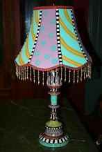 """Vertigo-Inspiring"" Lamp"
