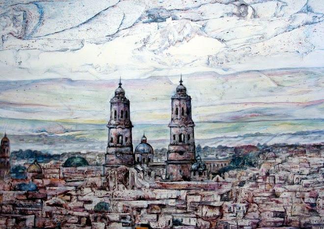 Morelia vista desde la casa del Maestro Jesús Escalera