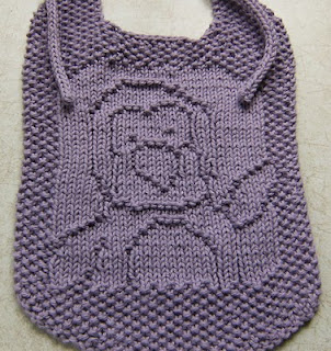 Free Knitting Patterns For Baby Bibs : Baby Bibs