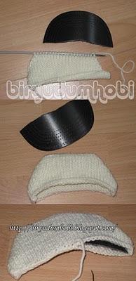 kasket şapka ve yapılışı