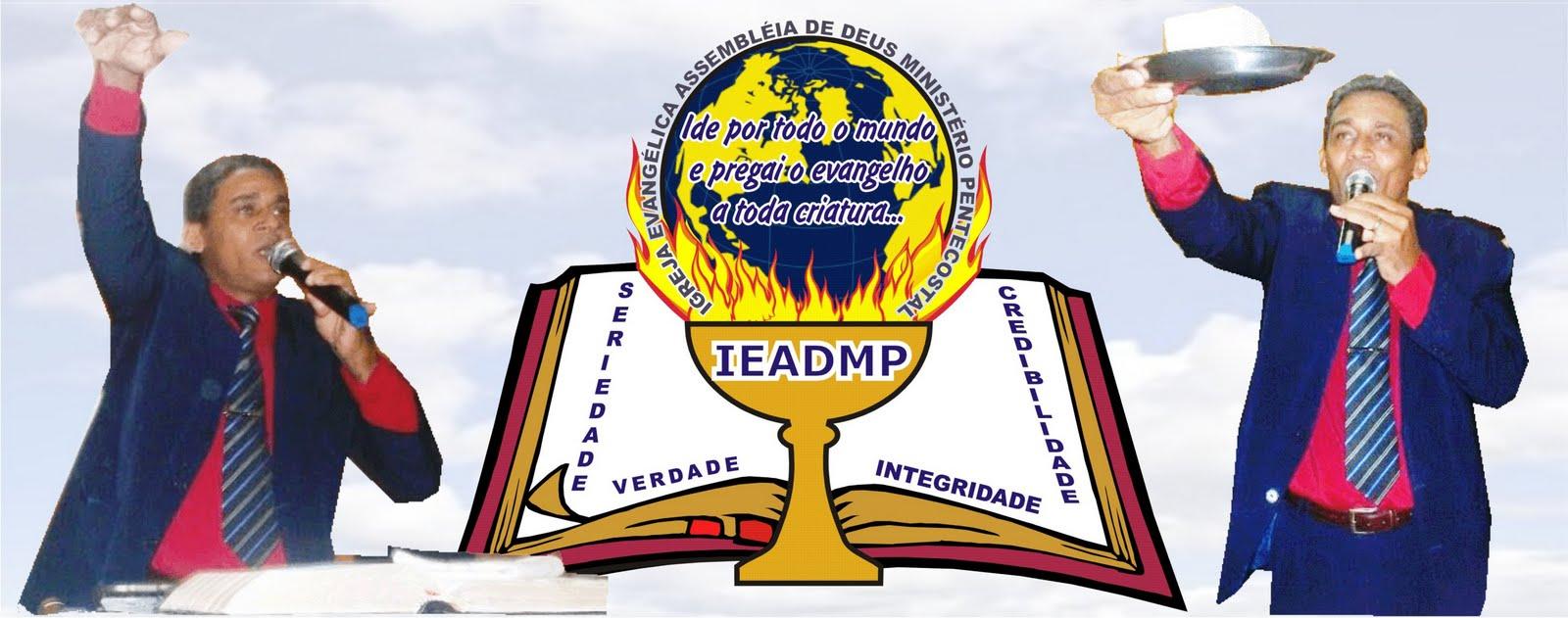 IGREJA EV. ASSEMBLEIA DE DEUS MINISTÉRIO PENTECOSTAL.