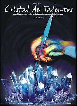 Livro Cristal de Talentos, estou com biografia e obra  neste livro.