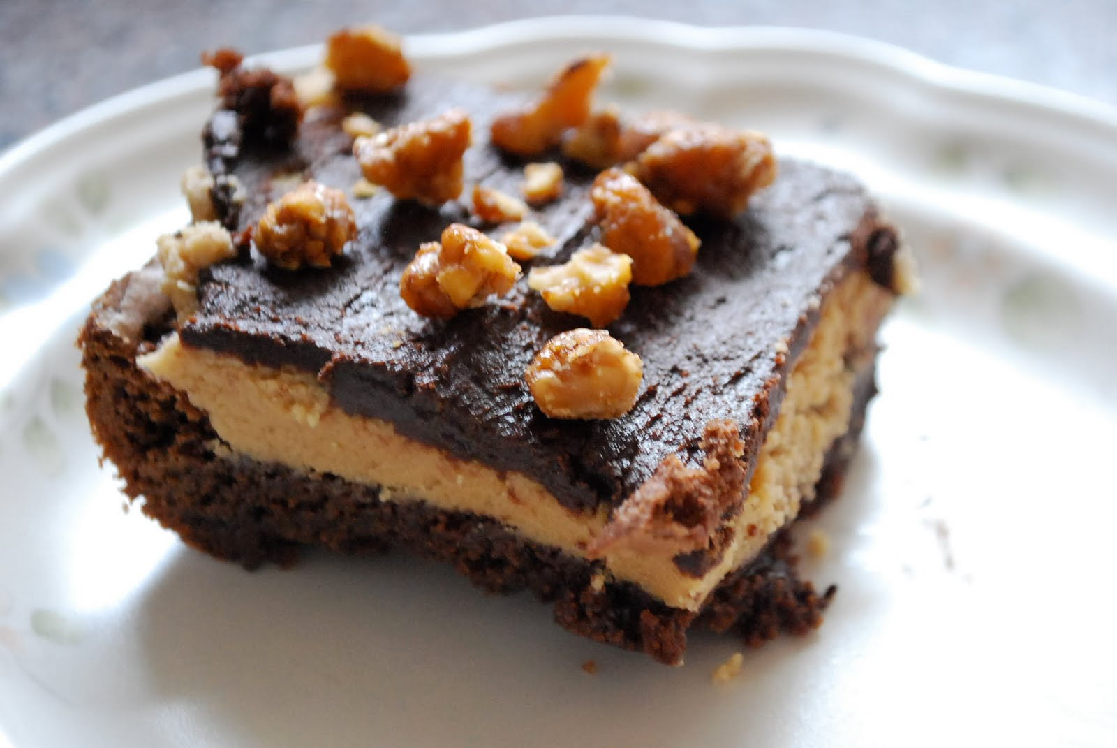 Our Family Treat: Peanut Butter Cookie Dough Brownies