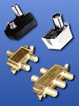 conectores para cable coaxil