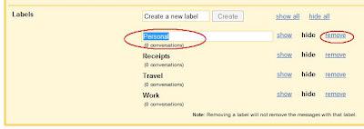 merubah nama label di gmail