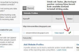 Cara meletakkan Google Analytics ke dalam blog