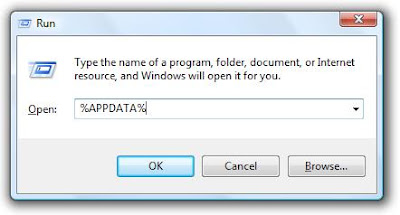 cara menemukan profile folder Firefox di komputer anda